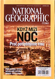 NATIONAL GEOGRAPHIC - listopad 2008